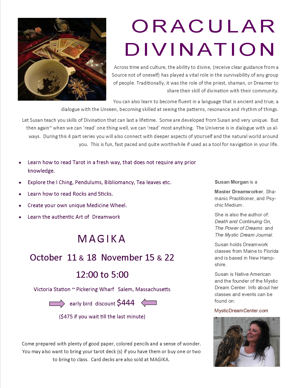 Oracular Divination 4 part series