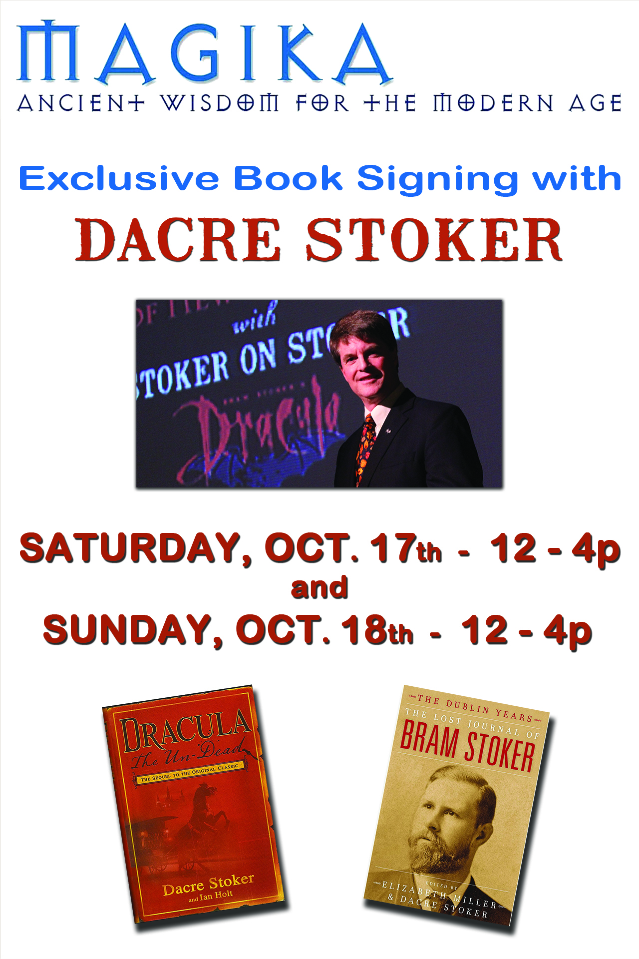 Dacre Book Sign SML